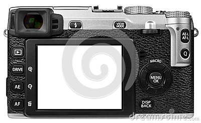 Digital Camera Isolated