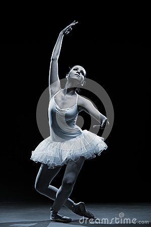 Ballet dancer-action