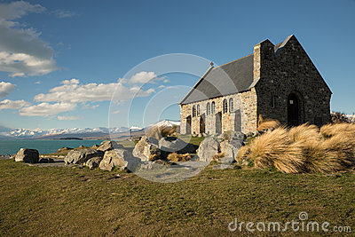 Church of the Good Shepherd & Lake Tekapo