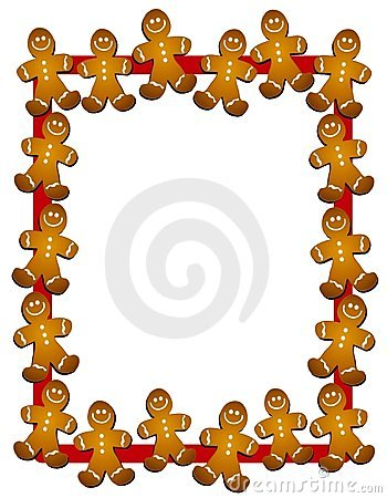 gingerbread man border or frame rh stockphotos ro