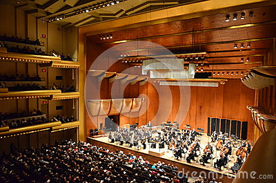 New York Philharmonic at Avery Fisher Hall, Lincol