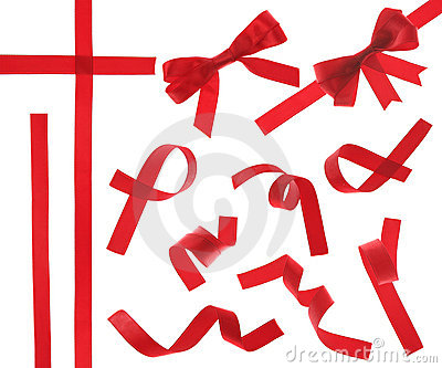Red Ribbon (isolated)