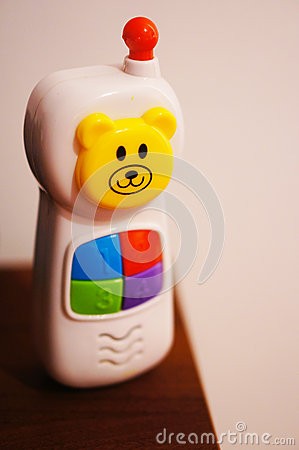 Plastic toy phone