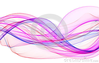 Abstract beautiful waves background design