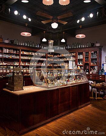 Old time pharmacy