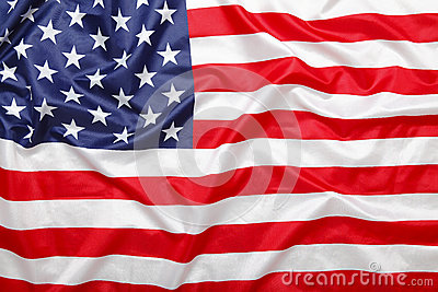 American stars and stripes flag background