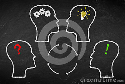 stock image of brainstorm