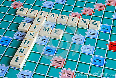 Leisure time gaming board