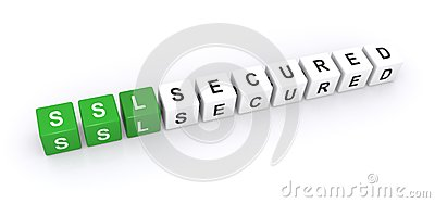 SSL secured sign
