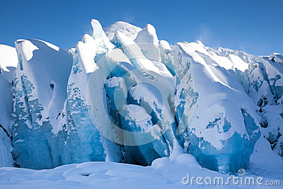 Glacial Blue Ice