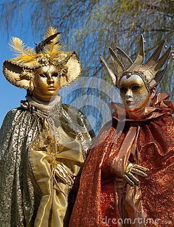 Venetian carnival at Annecy, France