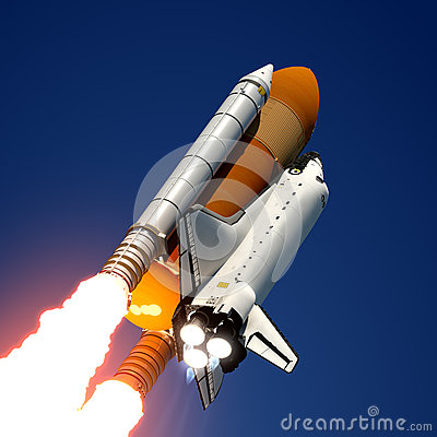 Space Shuttle Launch.