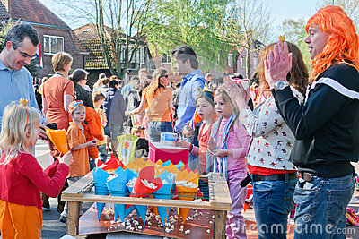 The Netherlands - April Festivity
