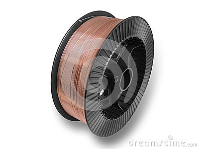 spool on a white background