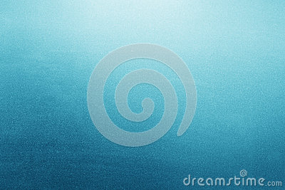Blue frosted glass background, texture