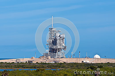 Space Shuttle launch platform