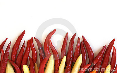 Fiery chillies