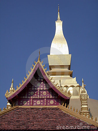 Roof Laos temple