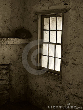 Window in Sepia
