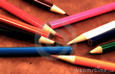 Scattered Pencils