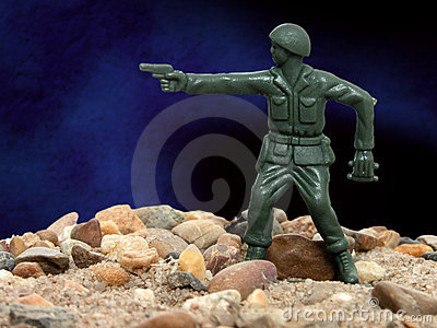 Toy Green Army Man 01