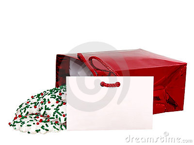 Add Text (Gift Card & Cookies) on White