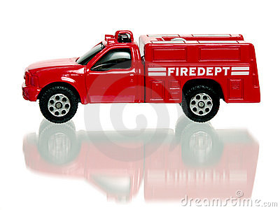 Toy Red Firetruck