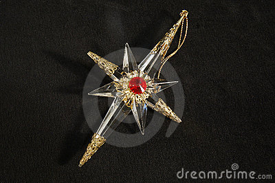 Christmas ornament - North Star, in full