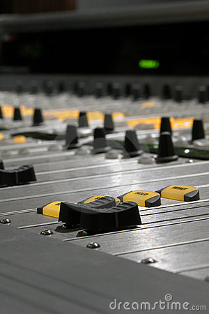 Mixing Console Detail I