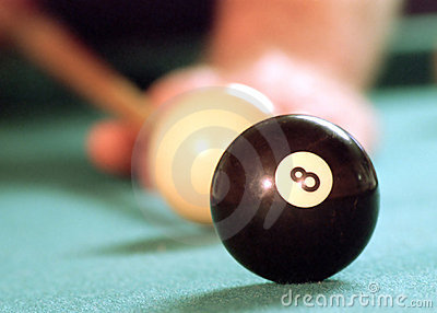 Behind the 8-ball