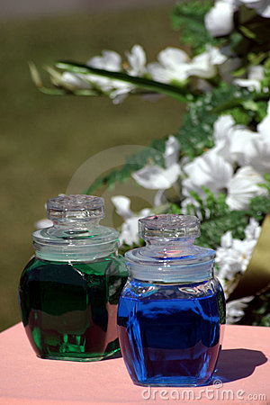 Wedding Colored Water