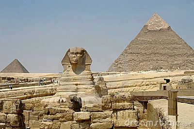 Pyramids and Sphynx