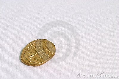 Spanish Gold Doubloon
