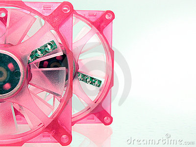 Case Fans Pretty in Pink