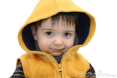 Boy with Clipping Path