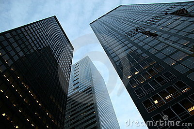 Skyscrapers at Financial District