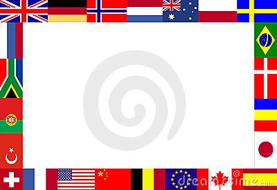 Multiple flags frame