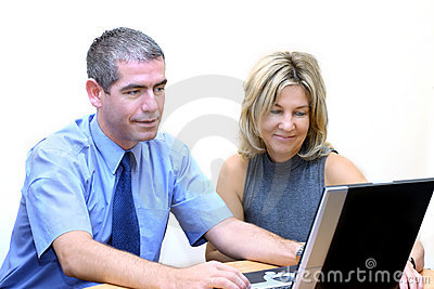 Business People - Internet Searching