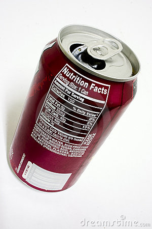Soda Nutrition facts