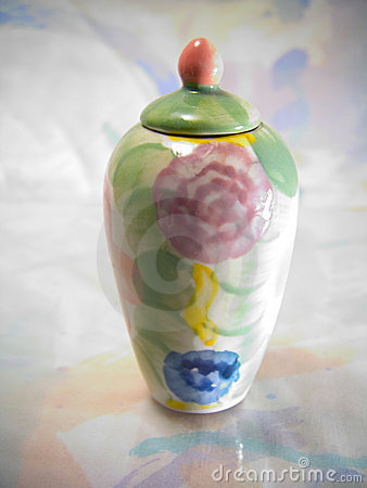 Colorful Vase
