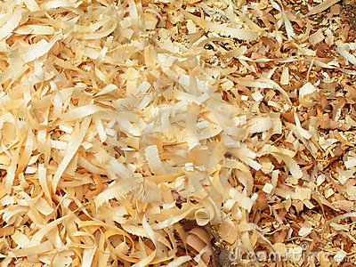 Wood chip texture