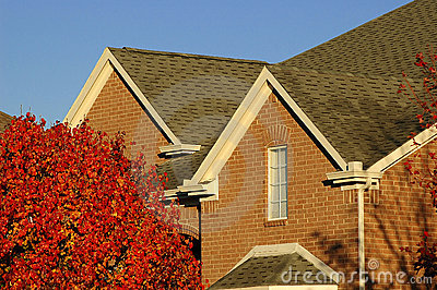 Red Brick Home Detail