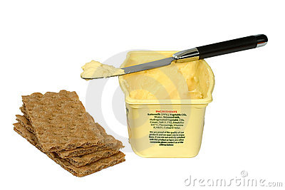 Butter and crackers
