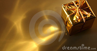 Gold Gift Abstract