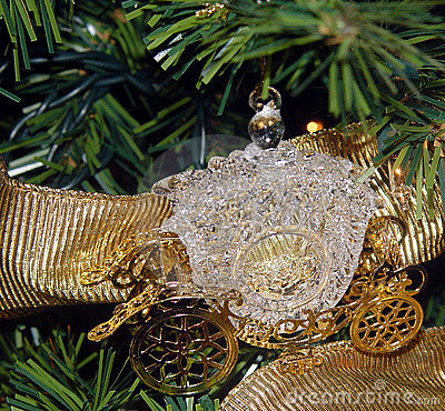 Cinderella's Carriage Ornament
