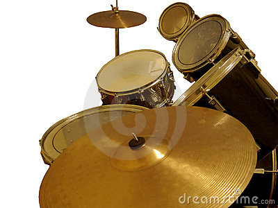 Cymbal and Drums