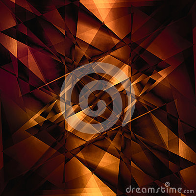 Abstract facet background