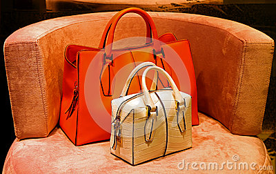 Ladies genuine leather handbags