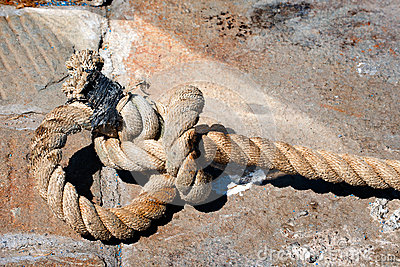 Big Old Rope on Stone