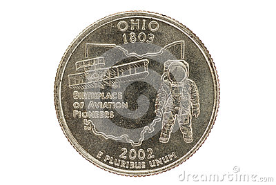 Ohio State Quarter Coin